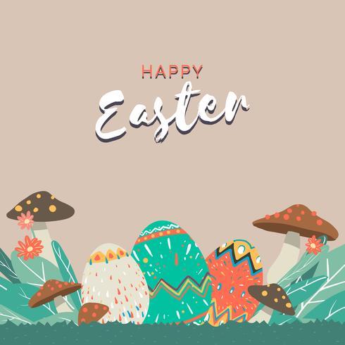 Illustrazione di confine di Pasqua