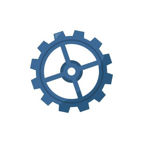 Illustration av ett kugghjul
