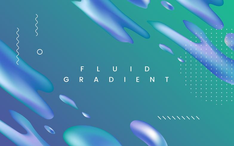 Fluid Gradient Wallpaper Design Download Free Vectors