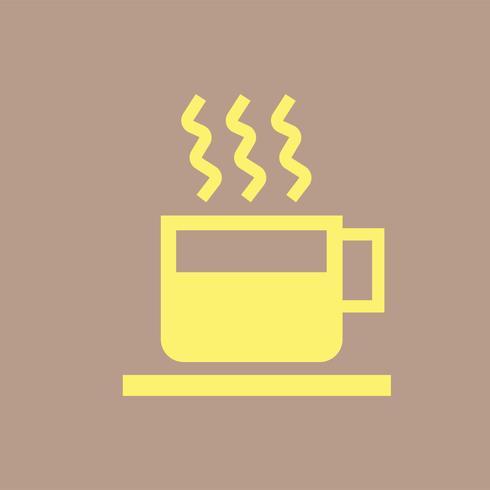 Tasse, illustration, café chaud