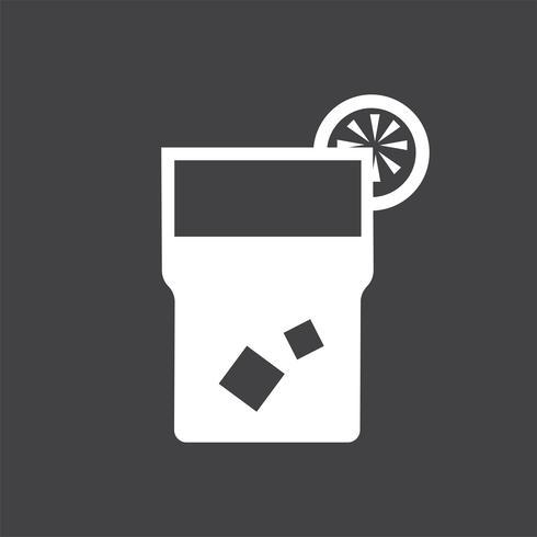 Copo de limonada icon ilustração