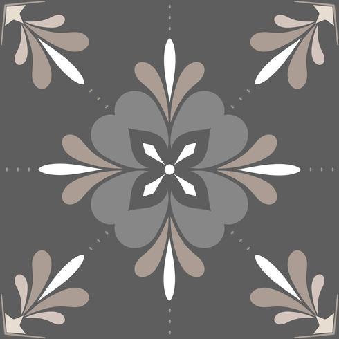 Gray tile pattern
