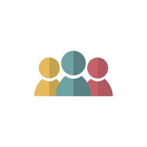 Ilustração de avatares de negócios