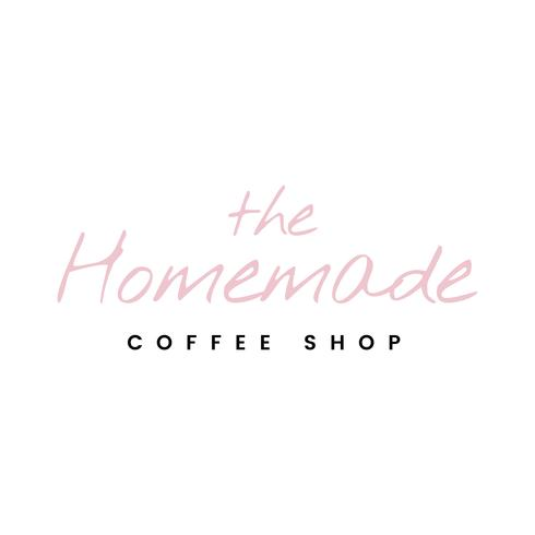 O vetor de logotipo de café caseiro