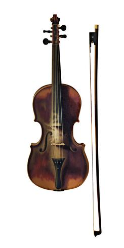 Still Life with Violin by William Harnett (1848-1892). Original from Library of Congress. Digitally enhanced by rawpixel.