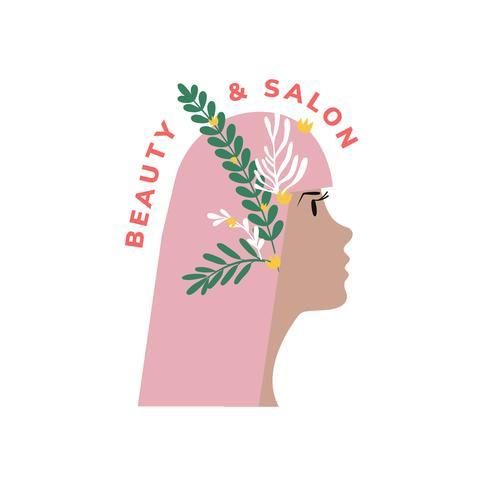 Icône de salon de beauté et de coiffure