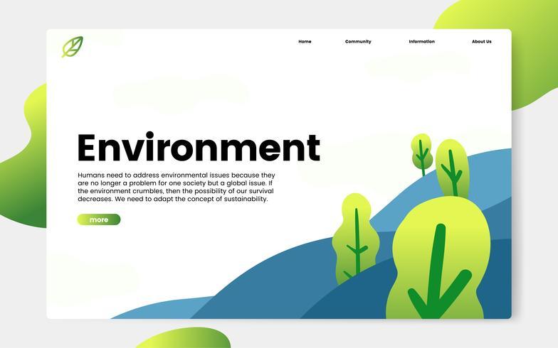 Website-informatie over milieu en natuur