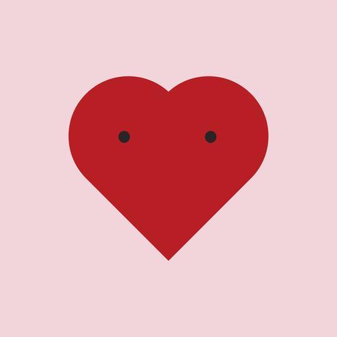 Corazón lindo diseño