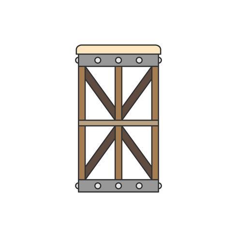 Illustration d'une chaise ou d'un tabouret design