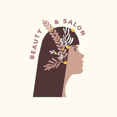 Skönhets- och frisörsymbol