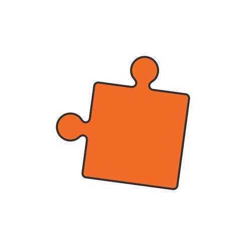 Illustration d'une pièce de puzzle