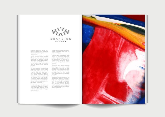 Magazine with branding ideas