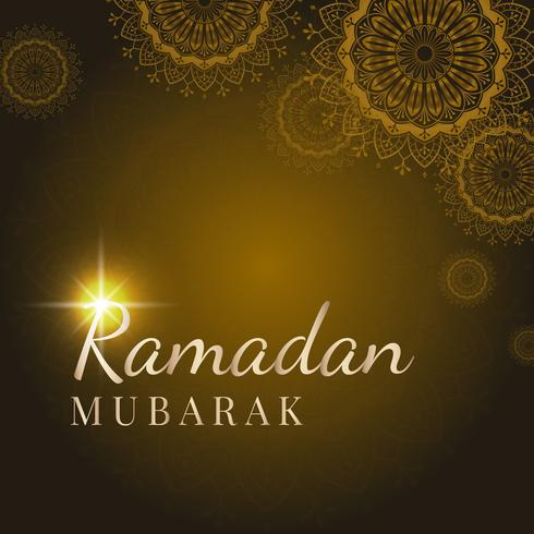 Illustration de la carte du Ramadan