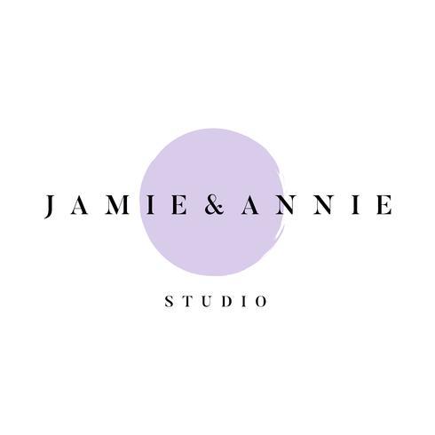 Vecteur de logo studio Jamie et Annie