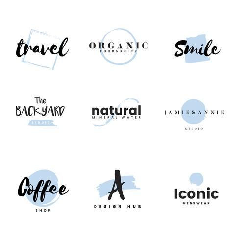 Sammlung von Logos und Branding-Vektor vektor