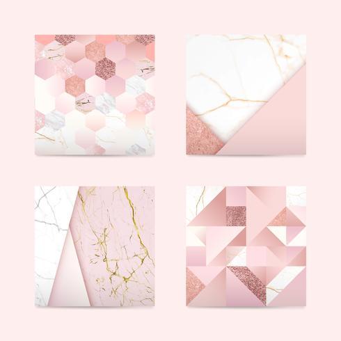 Girly rosa bakgrund