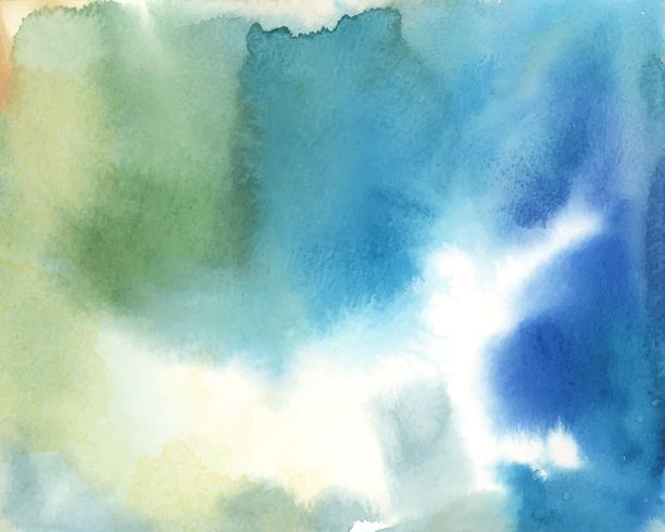 Vecteur de fond aquarelle abstrait coloré