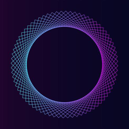 Vector abstracto geométrico elemento geométrico