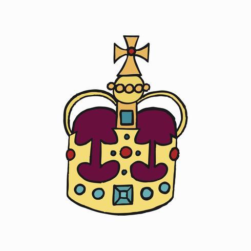 St Edward's Crown, l'un des joyaux de la couronne du Royaume-Uni illustration