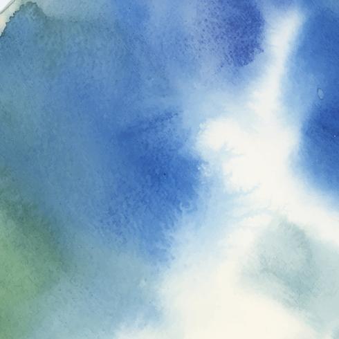 Färgrik vattenfärg abstrakt bakgrund vektor