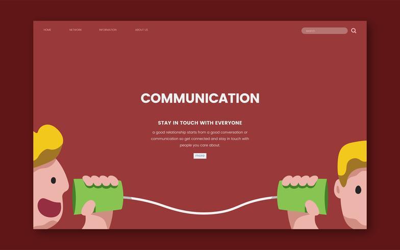Kommunikations- och informationswebbplatsen grafisk