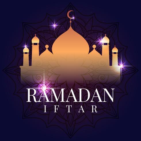 Ramadan kort illustration