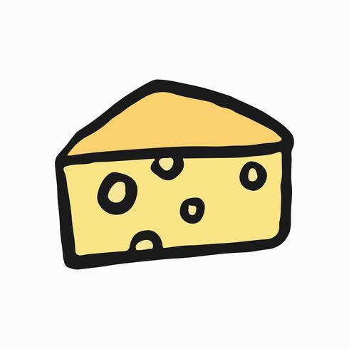 Emmental de savoie, ilustración de queso francés.