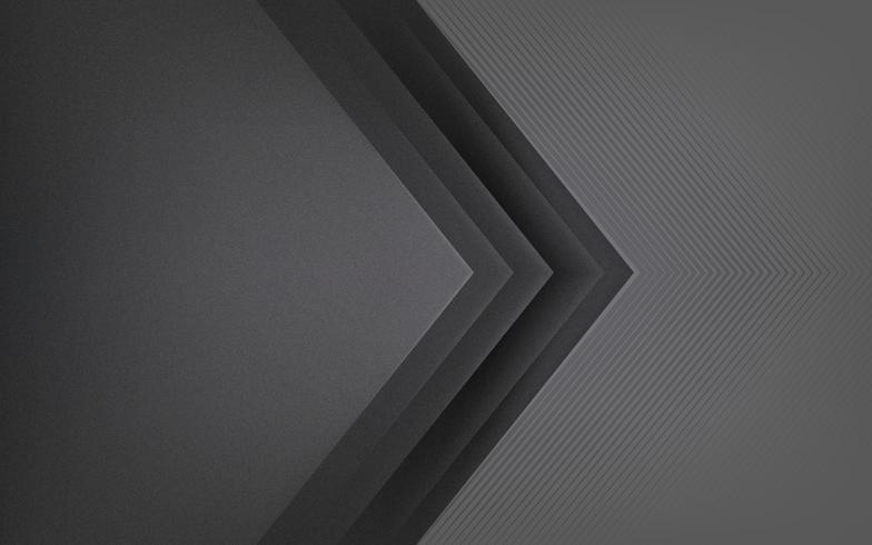 Diseño de fondo abstracto en gris oscuro