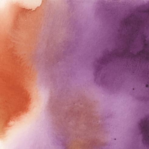 Kleurrijke waterverf abstracte vector als achtergrond