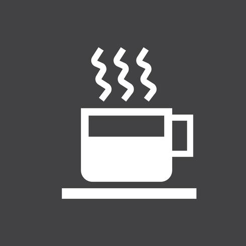 Tazza di caffè caldo illustrazione