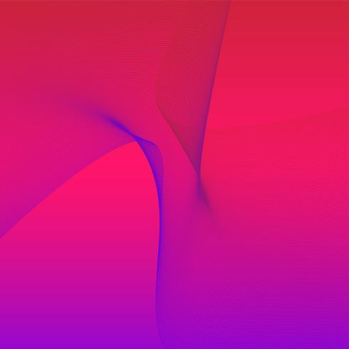 Kleurrijke levendige grafische 3D-golf