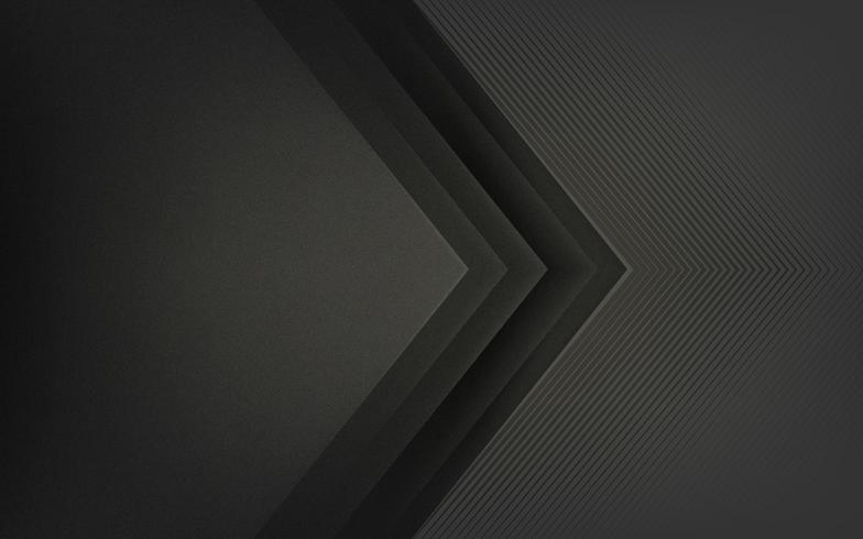 Diseño de fondo abstracto en negro