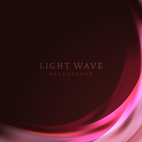 Light wave border background