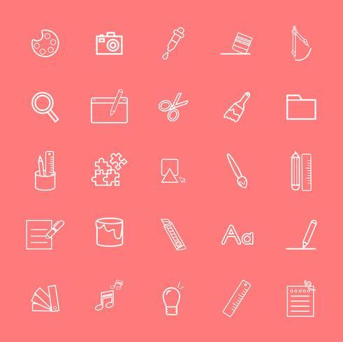 Gemischte Computer-Icons