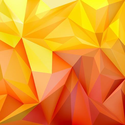 Sfondo con poligoni nei colori sfumati