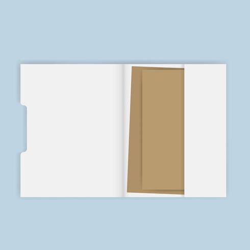 Tarjeta de visita ilustración vectorial información contacto