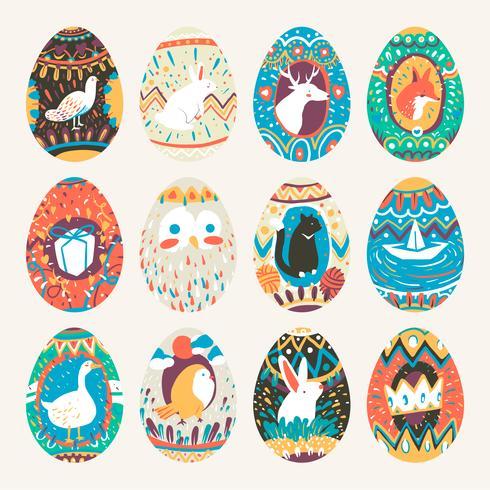 Ovo de páscoa projeta coleção