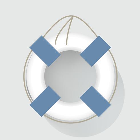 Vida Swim Tube Ilustração Do Vetor