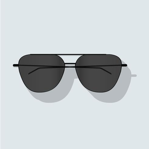 Ilustração em vetor ícone óculos de sol isolada