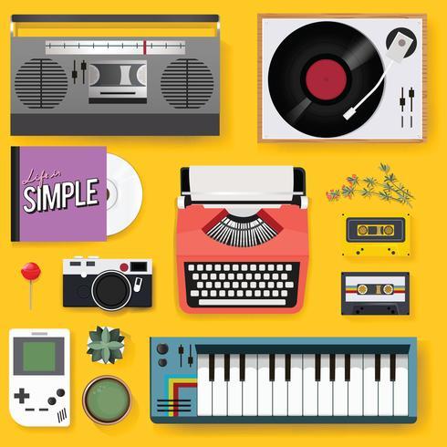 Set musique et média