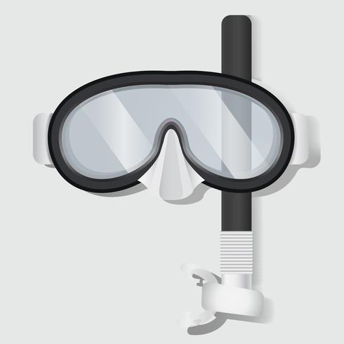 Snorkeling Scuba Mask Diving Equipment Illustration vectorielle