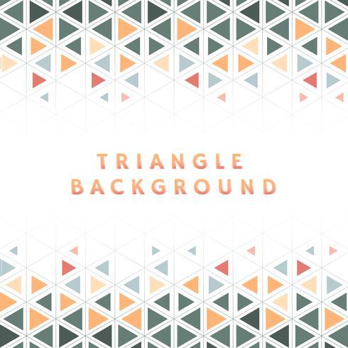 Illustration de modèle triangle coloré