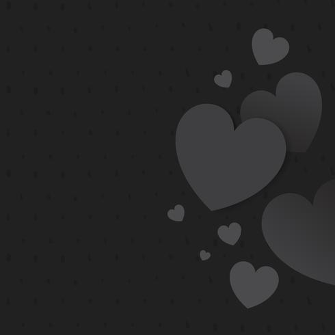 Ilustración de fondo del corazón