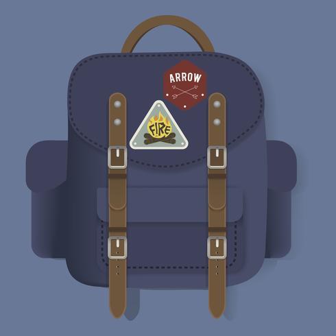Väska Rese Resa Grafisk Illustration Vektor