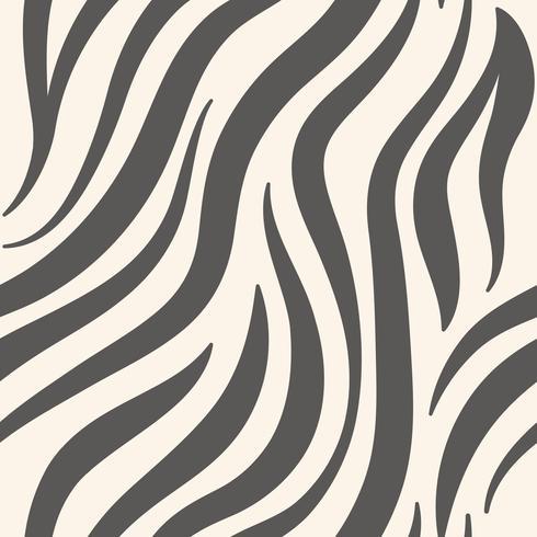Vetor de padrão de impressão zebra cinza