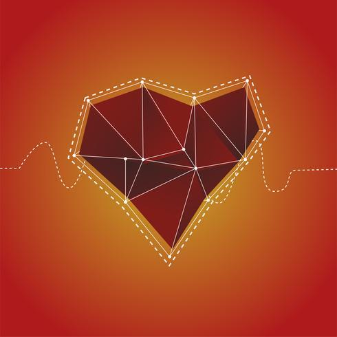 Illustratie van hart pictogram