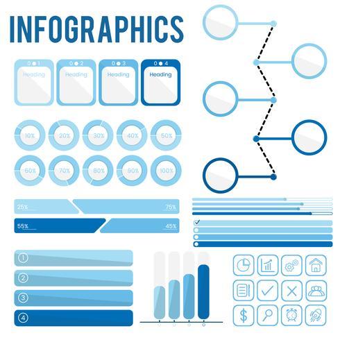 Vector de infografia