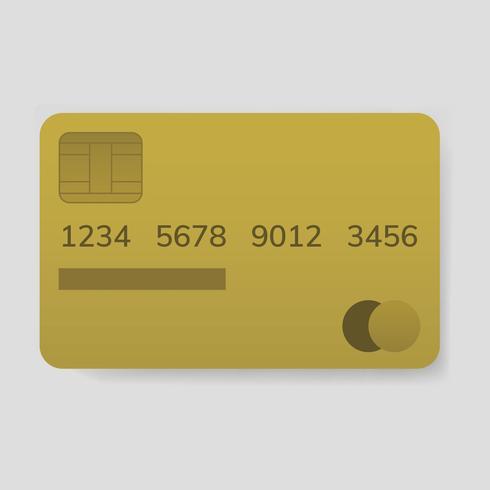 Creditcard elektronische bankoverschrijving vector