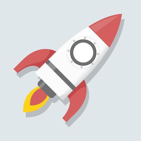 Illustratie van raketpictogram