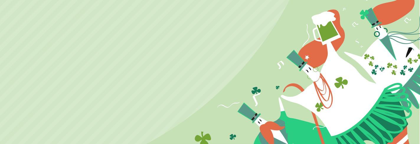 Illustration de la St Patrick
